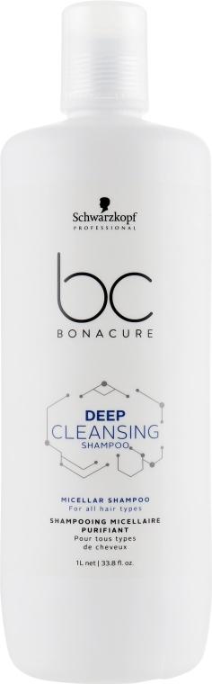 Глубоко очищающий мицеллярный шампунь - Schwarzkopf Professional BC Bonacure Scalp Therapy Deep Cleansing Micellar Shampoo