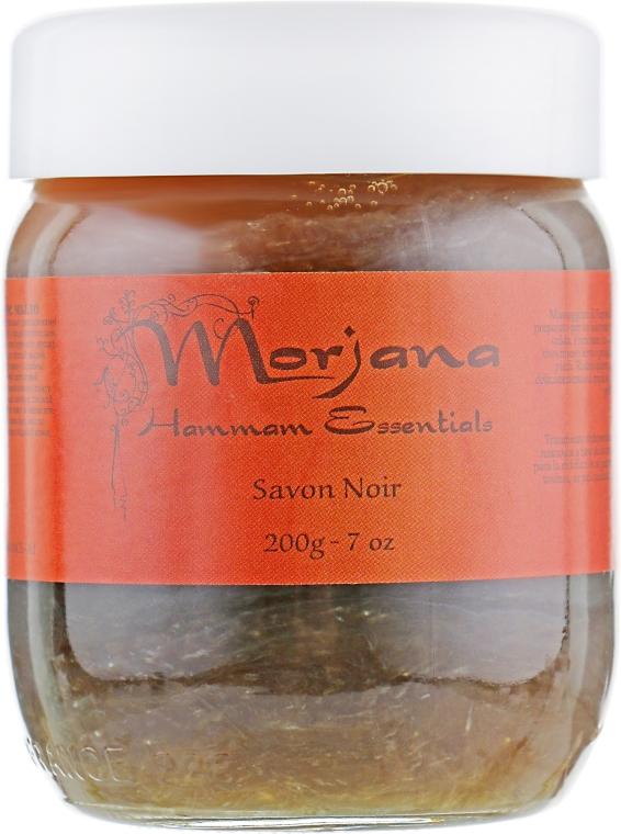 """Мыло """"Черное"""" в эконом-упаковке - Morjana Hammam Essentials Refill Black Soap"""