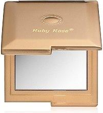 Духи, Парфюмерия, косметика Зеркало двухстороннее квадратное, золотое - Ruby Rose Delux Two-Way Mirror