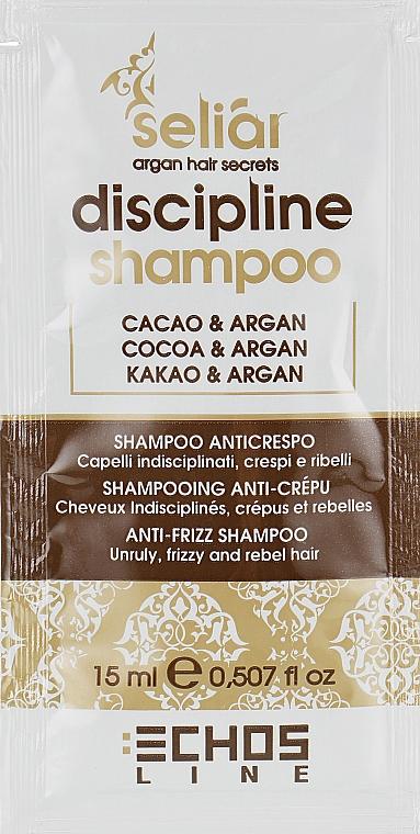 Шампунь для непослушных волос - Echosline Seliar Discipline Shampoo (пробник)