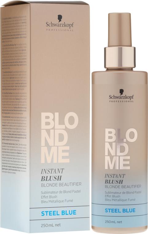 Оттеночный спрей - Schwarzkopf Professional BlondMe Instant Blush Spray