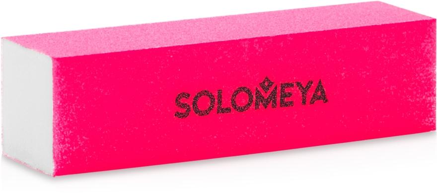 Блок-шлифовщик для ногтей 150grit, розовый - Solomeya Sanding Block