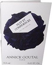 Духи, Парфюмерия, косметика Annick Goutal Nuit Et Confidences - Парфюмированная вода (пробник)
