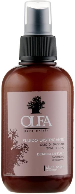 Флюид с маслами баобаба и семени льна - Dott. Solari Olea Fluid