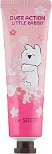 Духи, Парфюмерия, косметика Крем для рук парфюмированный - The Saem Over Action Little Rabbit Perfuemd Hand Velvet Cream Pink