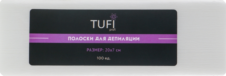 Полоски для депиляции - Tufi Profi
