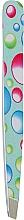 Духи, Парфюмерия, косметика Пинцет скошенный, 02-0030, бирюзовый - DUP