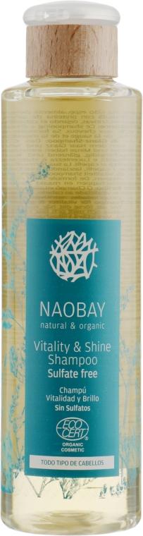 Шампунь сила и сияние - Naobay Ecocert Vitality And Shine Shampoo