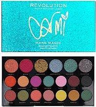 Духи, Парфюмерия, косметика Палетка теней для век - Makeup Revolution X Carmi Make Magic Eyeshadow Palette