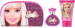 Духи, Парфюмерия, косметика Air-Val International Barbie - Набор (edt/50ml + b/lot/100ml + bag)