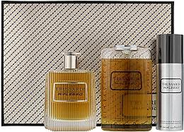 Духи, Парфюмерия, косметика Trussardi Riflesso Man Set - Набор (edt/100ml + sh/g/200ml + deo/100)