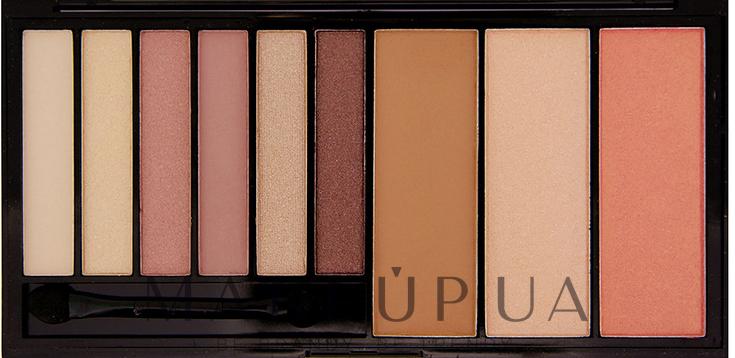 Комбинированная палетка для макияжа - Makeup Revolution Euphoria — фото Bare