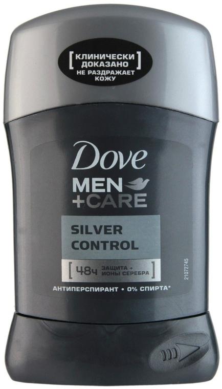 """Дезодорант-стик """"Заряд серебра"""" - Dove Men+ Care Silver Control Antyperspirant Stick"""