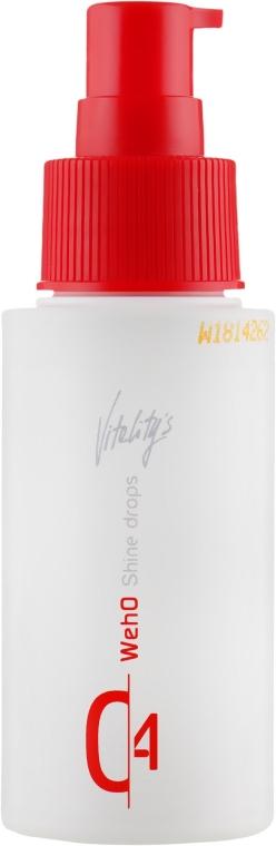 Капли для придания блеска и шелковистости волосам - Vitality's We-Ho Shine Drops