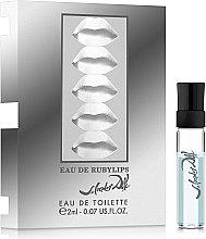 Духи, Парфюмерия, косметика Salvador Dali Eau de RubyLips - Туалетная вода (пробник)