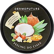 Духи, Парфюмерия, косметика Сахарный скраб для тела с маслами ши и кокоса - DermoFuture Sugar Body Scrub