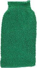 Парфумерія, косметика Рукавиця для миття і масажу тіла, зелена - Efas