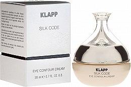 Духи, Парфюмерия, косметика Крем для век - Klapp Silk Code Eye Contour Cream