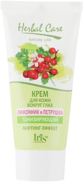 "Крем для кожи вокруг глаз ""Лимонник и петрушка"" - Iris Cosmetic Herbal Care"