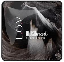 Духи, Парфюмерия, косметика Румяна для лица - L.O.V BLUSHMENT Blurring Blush