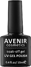 Духи, Парфюмерия, косметика Гель-лак для ногтей - Avenir Cosmetics Soak-Off UV Color Gel