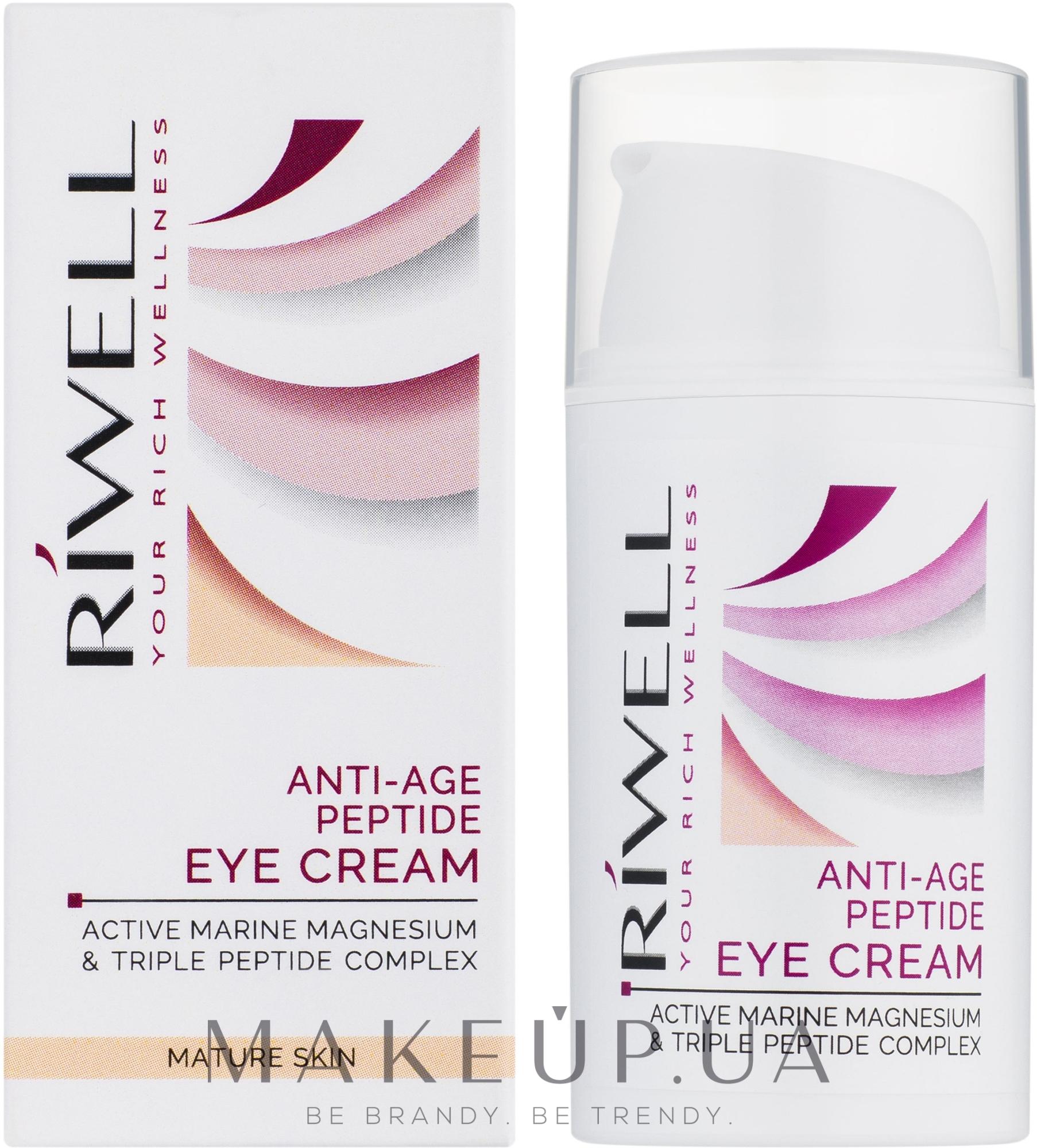 "Крем для век ""Антивозрастной"" - Riwell Anti-Age Peptide Eye Cream — фото 20ml"