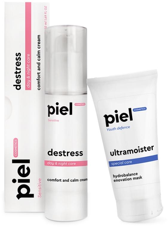 """Набор """"Увлажнение"""" для капризной и чувствительной кожи - Piel Cosmetics (mask/50ml + cr/50ml)"""
