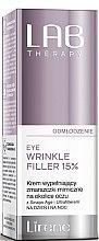 Духи, Парфюмерия, косметика Антивозрастной филлер для области вокруг глаз - Lirene Lab Therapy Anti Ageing Eye Cream Eye Wrinkle Filler 15%