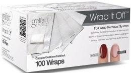 Парфумерія, косметика Фольга з тампоном для швидкого видалення гелевих лаків - Gelish Wrap It Off