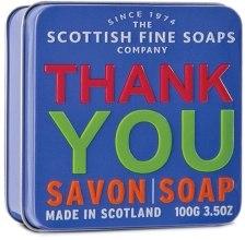 "Духи, Парфюмерия, косметика Мыло ""Спасибо"" - Scottish Fine Soaps ""Thank You"" Soap Tin"
