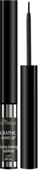 Подводка для глаз - Ninelle Graphic Make-up Long Lasting Eyeliner Soft Brush