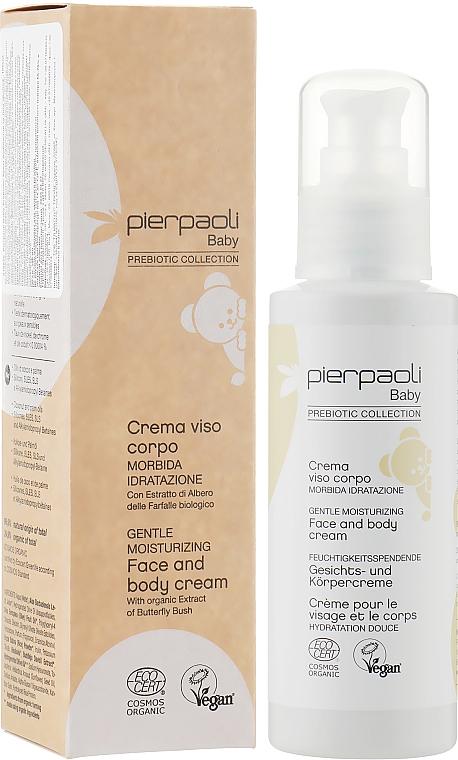 Увлажняющий детский крем для лица и тела - Pierpaoli Baby Care Face and Body Cream