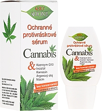 Духи, Парфюмерия, косметика Сыворотка для лица против морщин с маслом конопли - Bione Cosmetics Cannabis Protective Anti-Wrinkle Serum