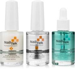 Духи, Парфюмерия, косметика Набор для восстановления ногтей - Nail Tek Recovery Kit (foundation/15ml + therapy/15ml + renew/15ml)