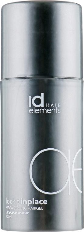 Гель для волос суперсильной фиксации волос - idHair Titanium LockIt Mega Strong Hairgel