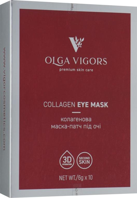 Коллагеновая маска-патч под глаза - Vigor Collagen Eye Mask