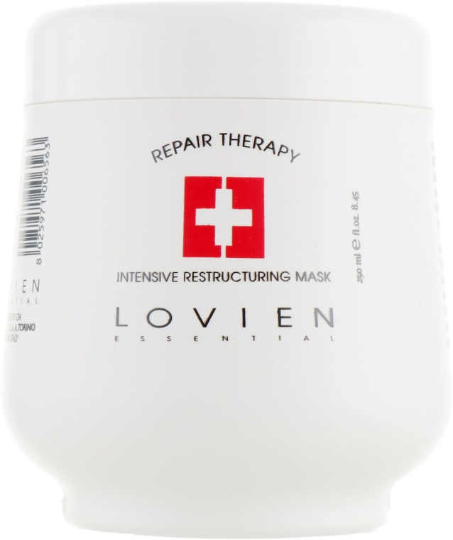 Маска для сухих и поврежденных волос - Lovien Essential Mask Intensive Repairing For Dry Hair