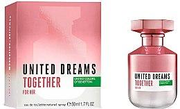 Духи, Парфюмерия, косметика Benetton United Dreams Together For Her - Туалетная вода