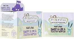 Парфумерія, косметика Дитячі серветки для очищення зубів і ясен - Jack N' Jill