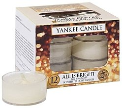 Духи, Парфюмерия, косметика Чайные свечи - Yankee Candle Scented Tea Light Candles All is Bright