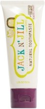 Парфумерія, косметика Натуральна зубна паста зі смаком смородини - Jack N' Jill Natural Toothpaste Blackcurrant