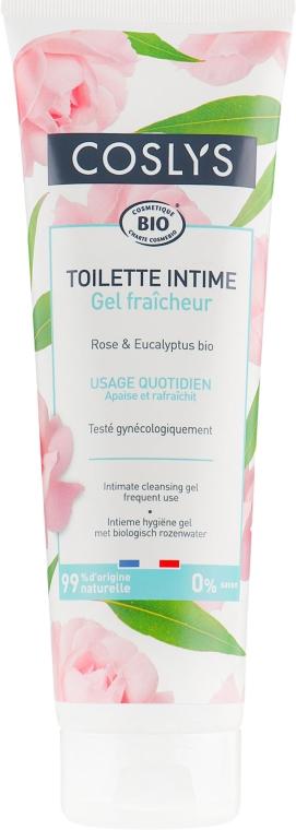 Очищающий гель для интимной гигиены с органической водой розы - Coslys Body Care Intimate Cleansing Gel