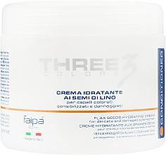 Духи, Парфюмерия, косметика Маска для волос с льняным маслом - Faipa Roma Three Colore Hydrating Cream with Flax Seed