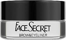 Духи, Парфюмерия, косметика Подводка для глаз и бровей - FaceSecret Brow&Eyeliner