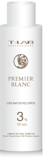 Крем-проявитель 3% - T-LAB Professional Premier Blanc Cream Developer 10 vol 3%