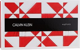 Парфумерія, косметика Calvin Klein Euphoria - Набір (edp 100ml + mini 10ml + b/l 200ml)