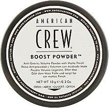 Духи, Парфюмерия, косметика Антигравитационная пудра для объема с матовым эффектом - American Crew Boost Powder