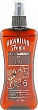 Духи, Парфюмерия, косметика Масло-спрей для загара - Hawaiian Tropic Dark Tanning Oil Pump SPF 6