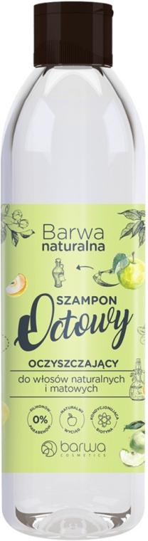 Очищающий уксусный шампунь - Barwa Herbal Apple Vinegar Shampoo — фото N1