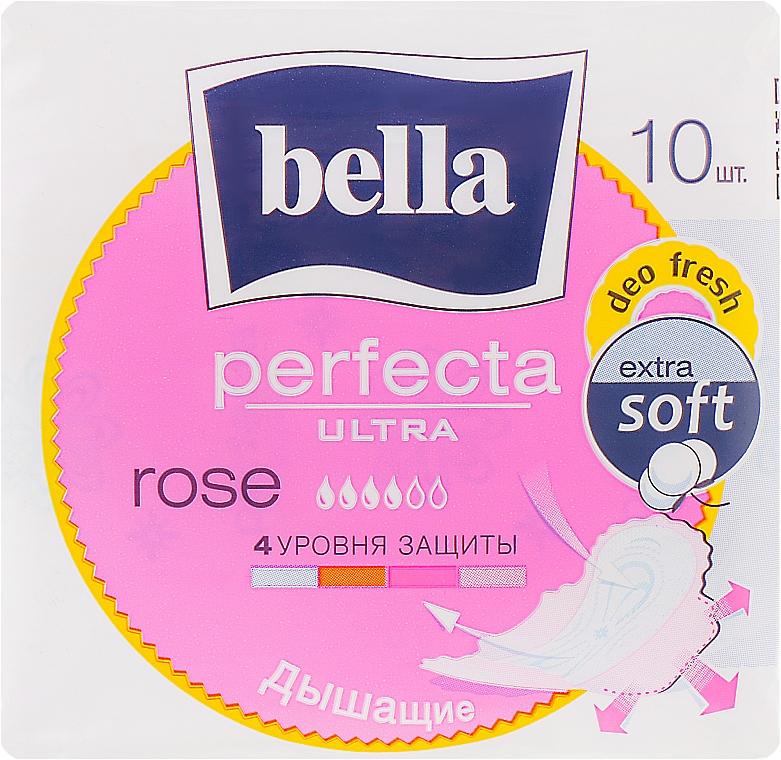 Прокладки Perfecta Rose Deo Fresh Drai Ultra, 10шт - Bella